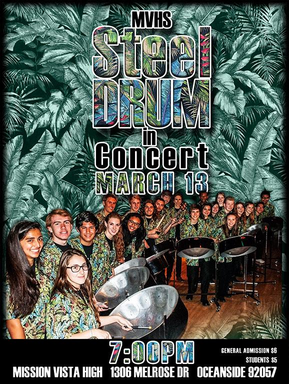 MVHS Steel Drum 2 Concert 3_14_14